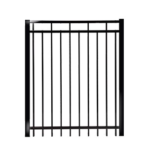 Gates contemporary  regular Rail 1''- ornamental