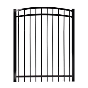 Gates contemporary  arched Rail 1''- ornamental