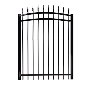 Gates classic model arched Rail 1'' - ornamental
