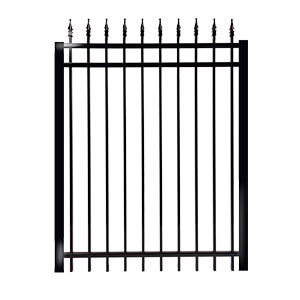 Gates classic model regular rail 1''- ornamental